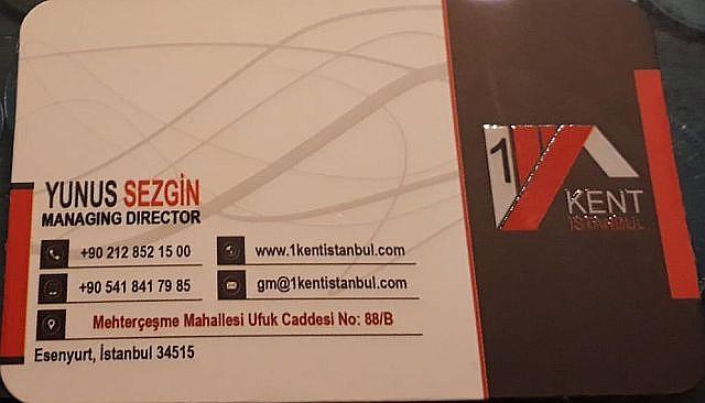 1Kent İstanbul Gayrimenkul
