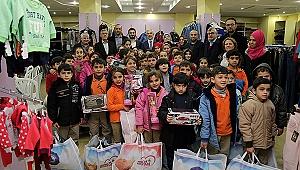 Halepli çocukların yüzleri güldü