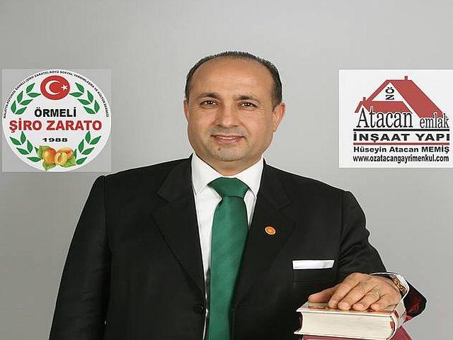 Hüseyin Memiş - Pütürge Örmeli Şiro Zarato Dernek Başkanı