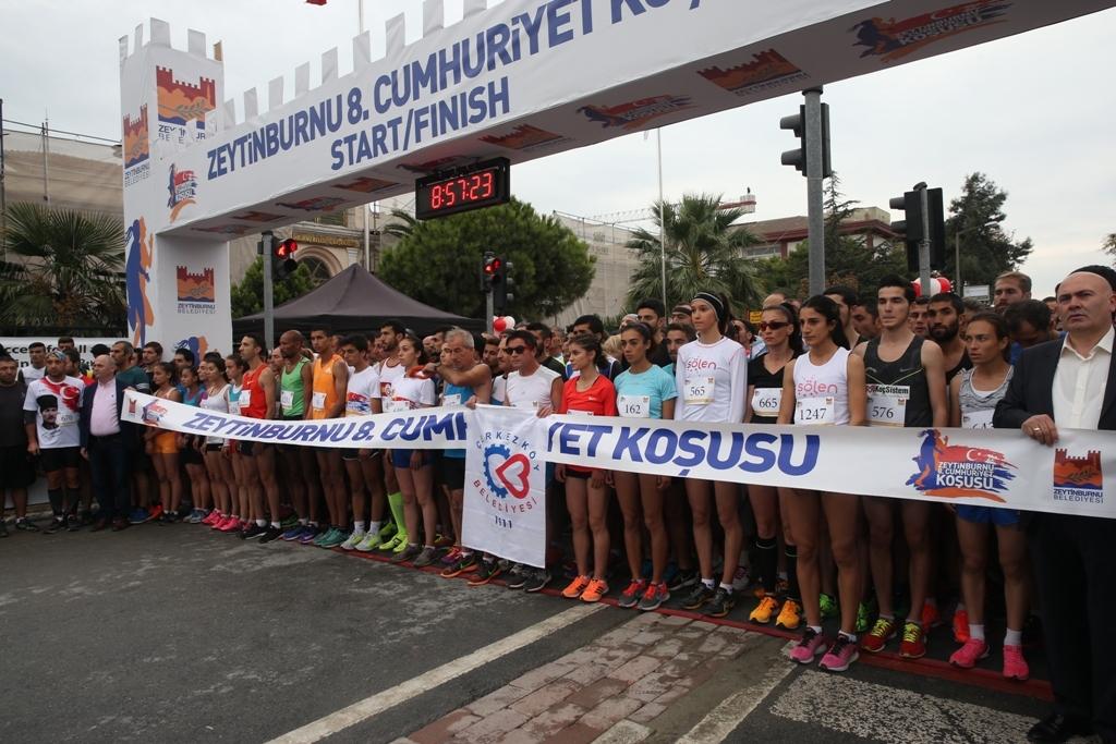 9. Uluslararası Zeytinburnu Cumhuriyet Koşusu Başlıyor