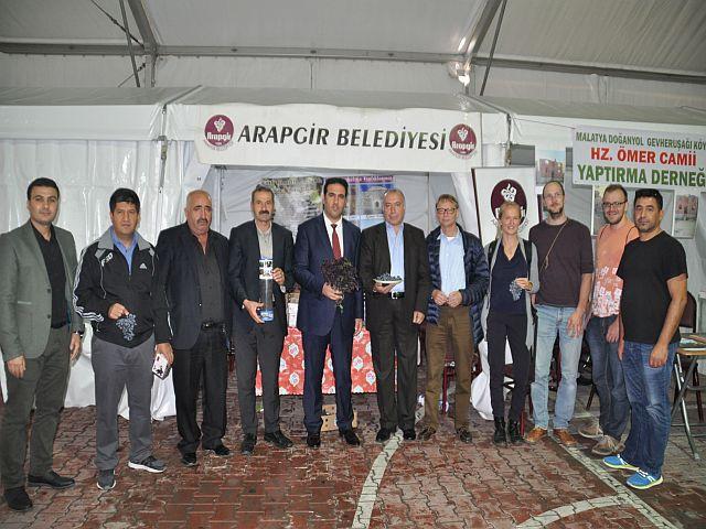 Arapgir Üzüm Festivaline Alman Damgası