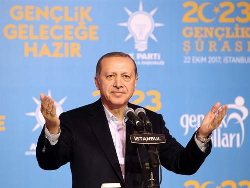 Cumhurbaşkanı Erdoğan 2023 Gençlik Şurası'nda Konuştu