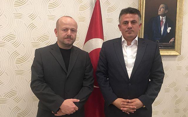 Fatih Keskinci, Sinan Çamuroğlu'nu Ziyaret Etti