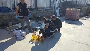 İstanbul Emniyet Müdürlüğü, Akaryakıt Kaçakçılığı Yapan Lojistik Firmaya Baskın Yaptı