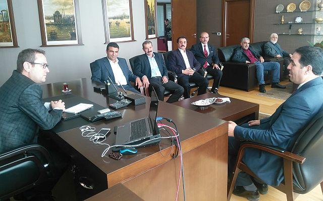 MADEF, Başakşehir Belediye Başkanı Yasin Kartoğlu'nu Tebrik Etti