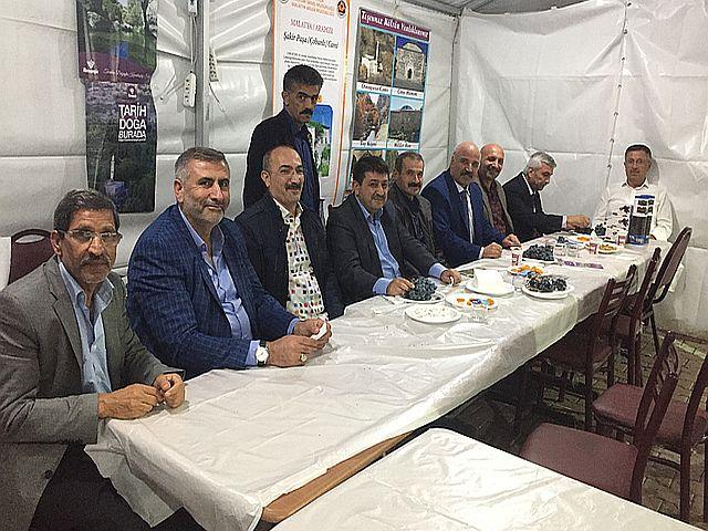 Malatya'nın Altın İsimleri Arapgir Üzüm Festivalinde Buluştu