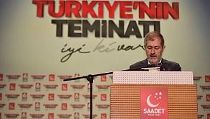 Saadet Partisi İstanbul'da Abdullah Sevim'e Emanet