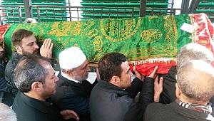 Şükrü Erdoğan Dualarla Ebedi Yolculuğuna Uğurlandı