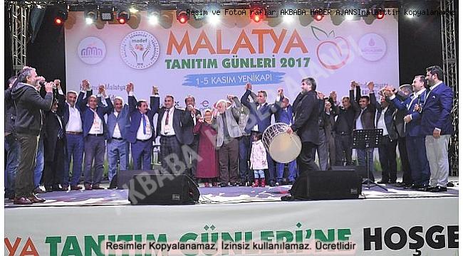 Yenikapı 'Malatya Tanıtım Günleri' Kıskandırdı