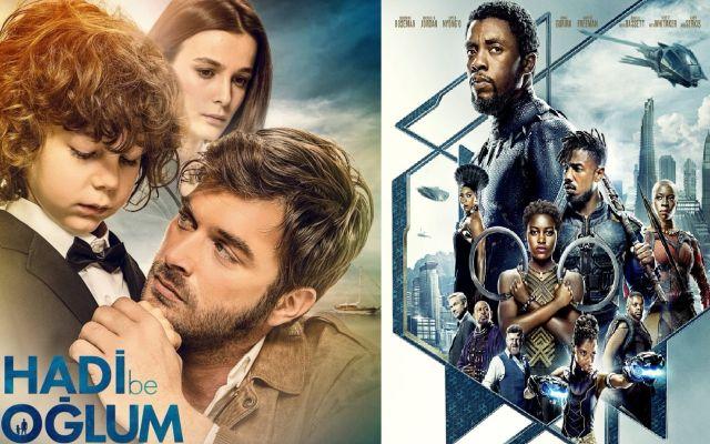 Hafta sonunun en çok izlenen filmleri belli oldu