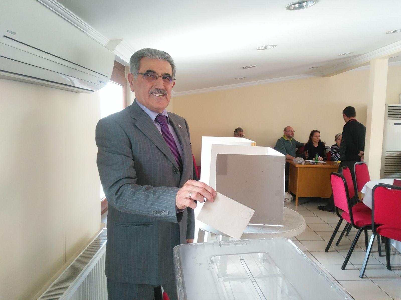 Ahmet Turan Akkaya oda başkanlığında yeniden Güven tazeledi