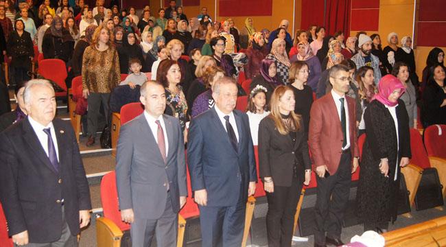 Bahçelievler Belediyesi ve Kent Kadın Konseyi, 8 Mart Kadınlar Gününü Kutladı