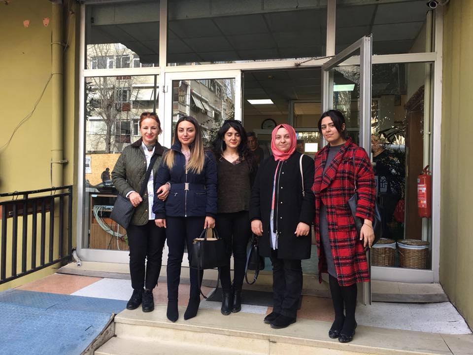 Bakırköy'ün Asenaları Şefkat Huzurevi'ni Ziyaret Etti