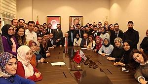 Cumhurbaşkanı Recep Tayyip Erdoğan'ın Yeni Akparti Sarıyer İlçe Başkanlık Binasına Ziyaret