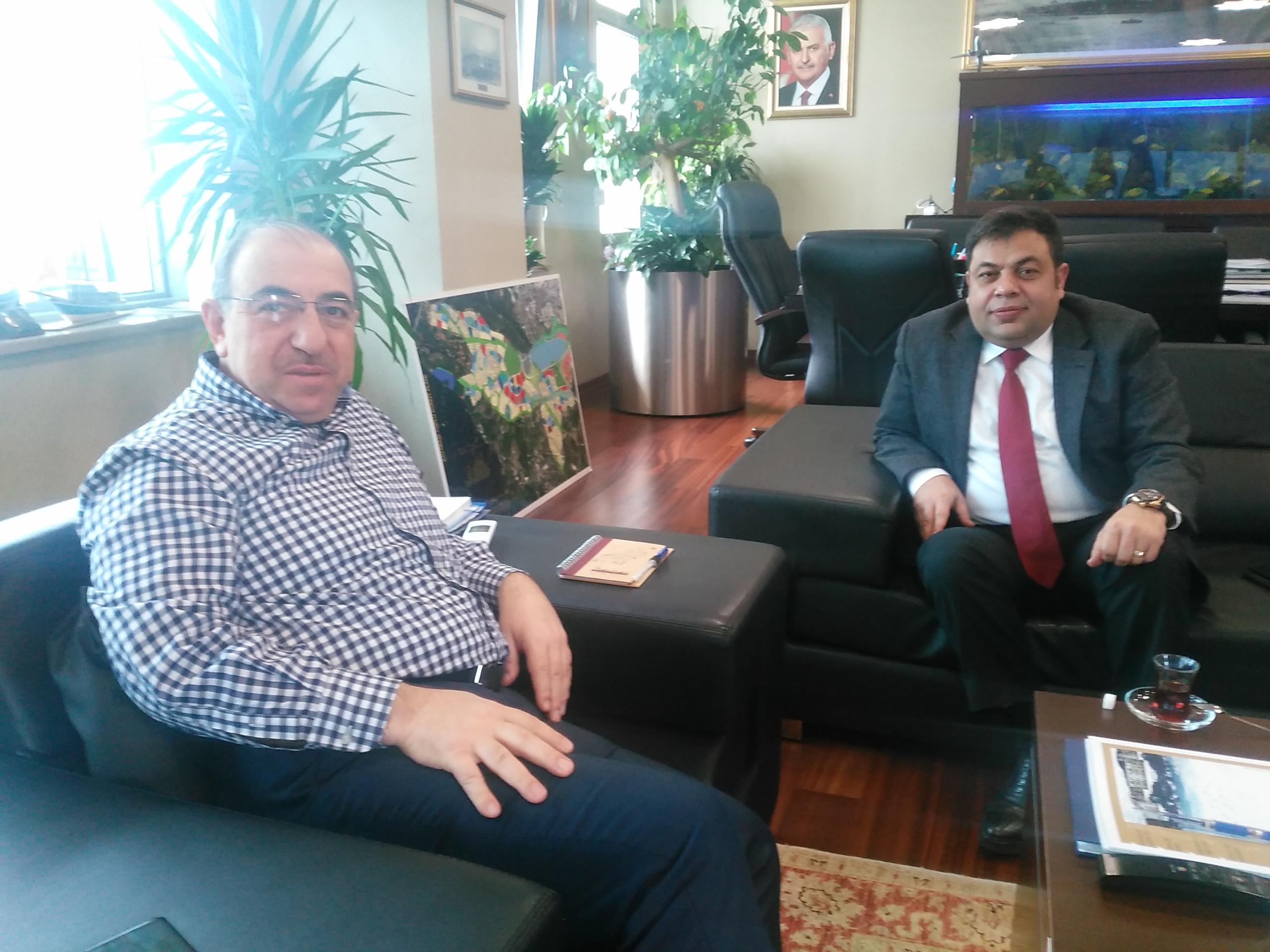 Murat Bingöl, Toki Başkan Yardımcısı Mehmet Özçelik'i Ziyaret Etti