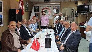 STK Başkanları Akşam Yemeğinde Buluştu
