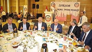 İstanbul Esnaf Odaları bereket sofrasını şükürlerle paylaştılar