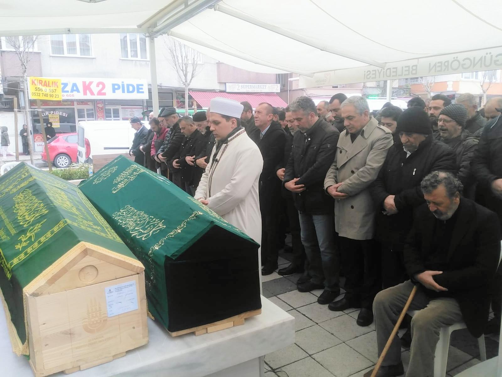 Erdoğan Şen ve Ali Deniz dualarla ebedi yolculuğa uğurlandı