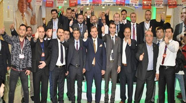 Güngören Yeniden Refah parti kongresiyle ikinci  40 yıllık şahlanışa start verdi