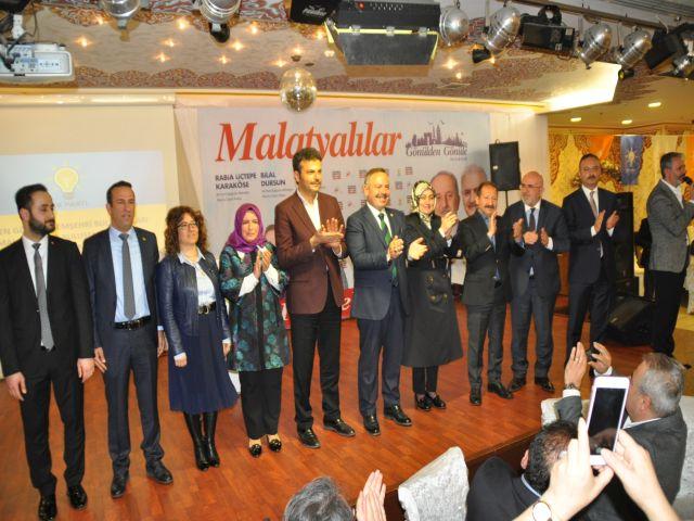 Malatyanın Bağcılardaki adayları Malatyalılara emanet