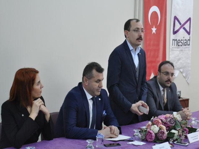 Mehmet Muş'tan Merter Tekstiline  tam destek