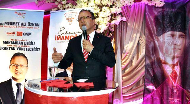 Millet İttifakı adayı M. Ali Özkan'a Kastamonu'lardan  tam destek