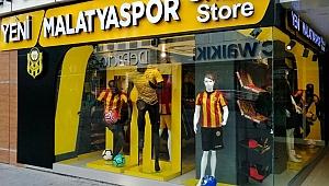 Yeni Malatyaspor Satış mağazası, resmi açılışa gün sayıyor