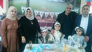 Polat ailesi evlatlarının ilk mürvetini dostlarıyla paylaştı