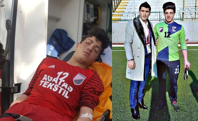 İstanbul Gençlergücü Sporun kalecisi Erdoğan Toprak ölümden döndü