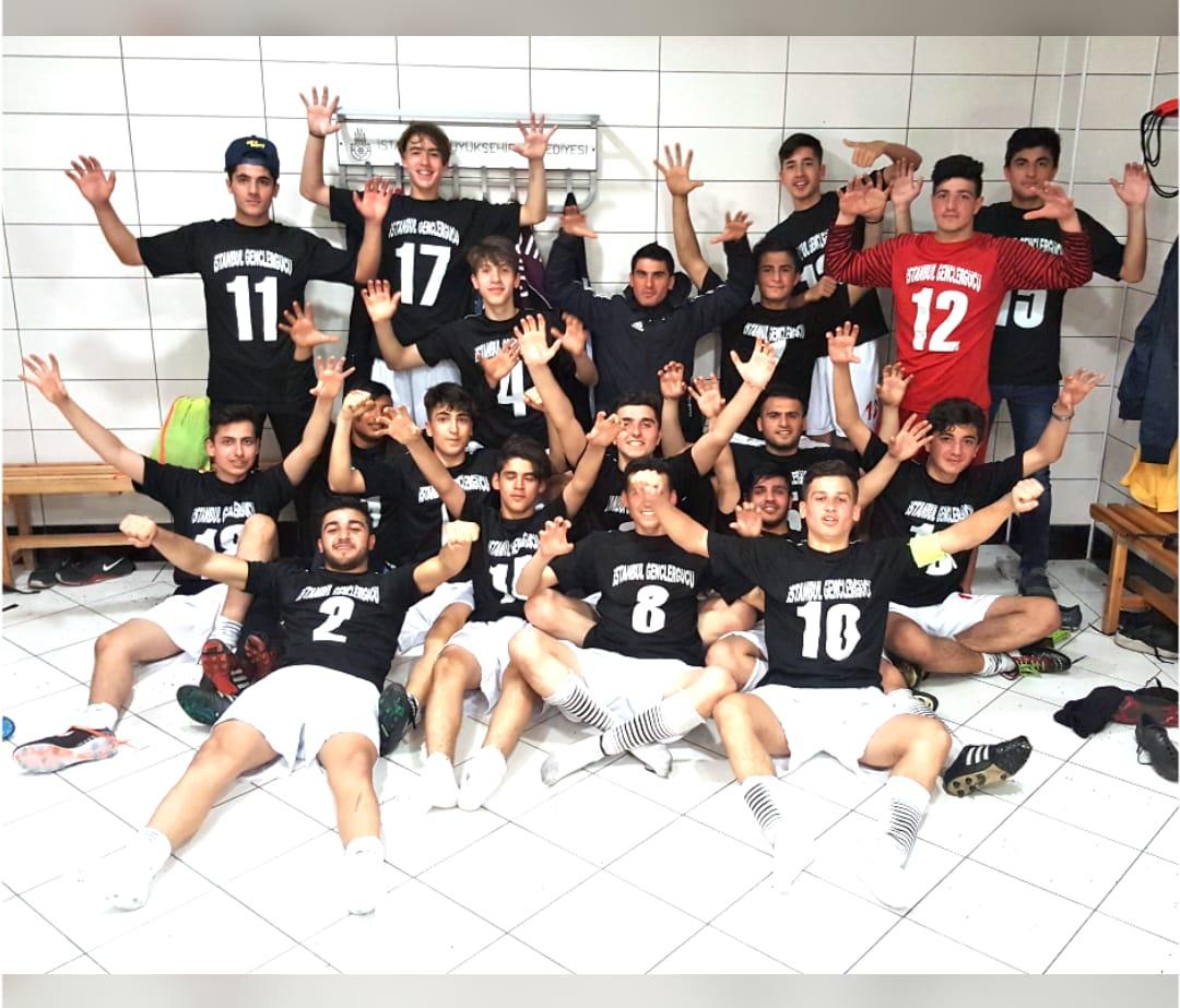 İstanbul Gençlergücü, Topcular spordan 3 puan alarak lider koltuğuna oturdu