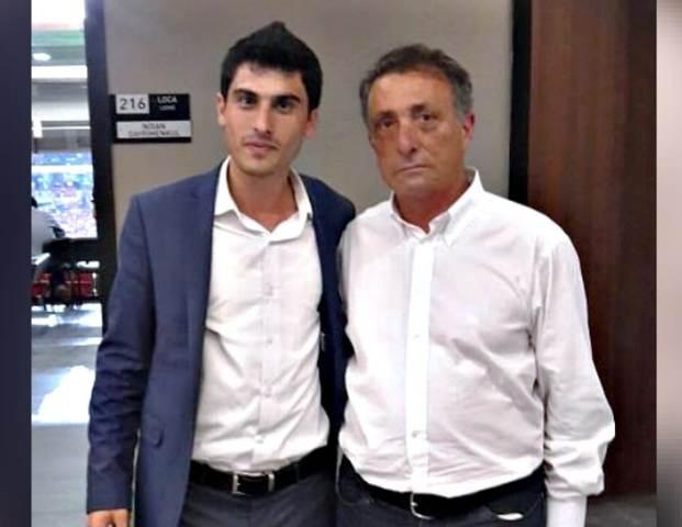 Genç Başkan Özgür Subaşı Ahmet NUR Çebi'ye Başarı Diledi