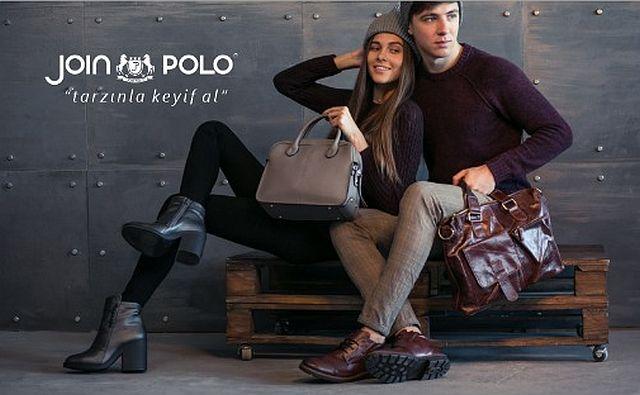 Join Polo Erkek ve kadın ayakkabıda sezonun trendini yakaladı