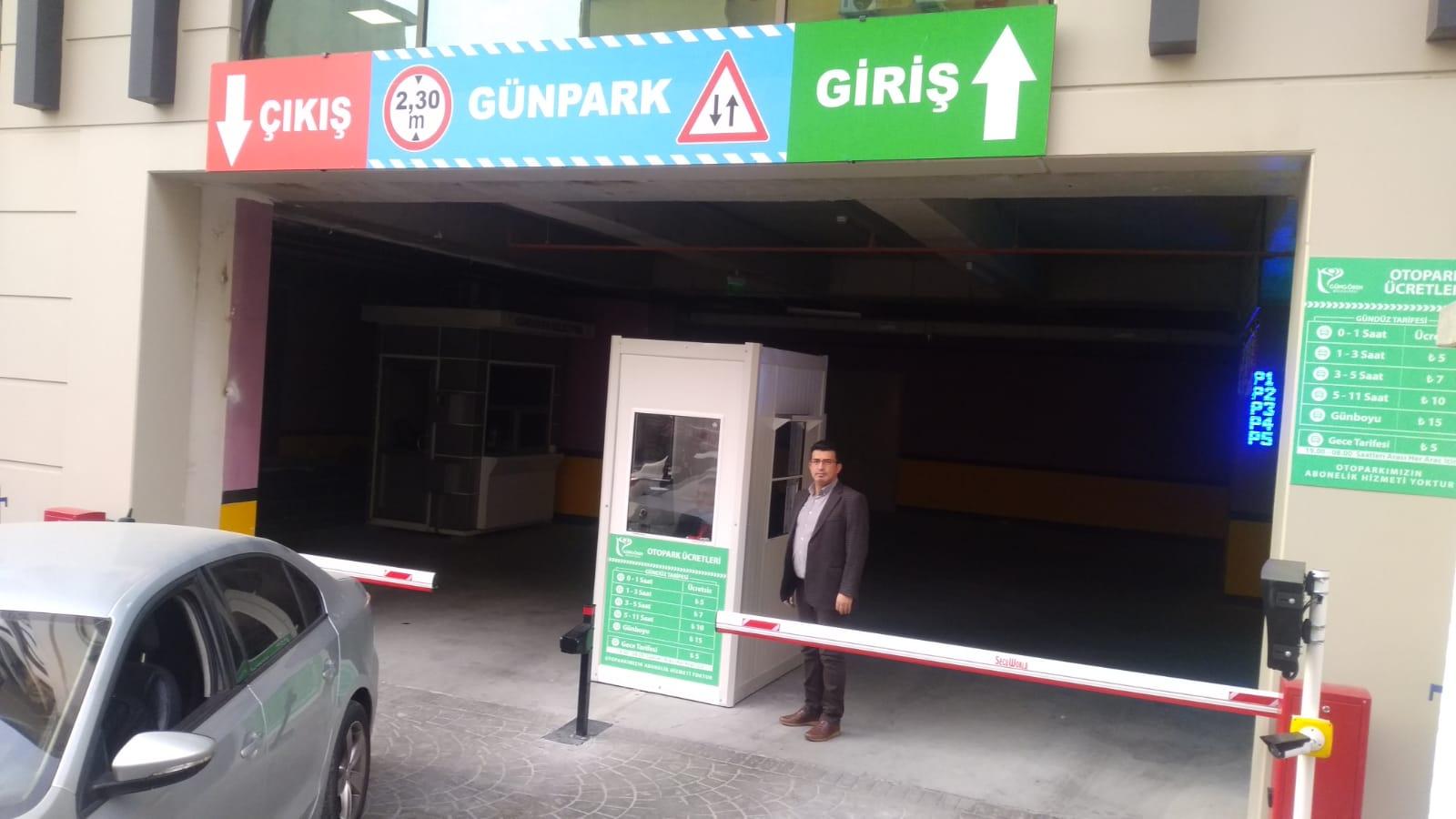Müjde, Belediye hizmet binası otoparkı halka açıldı