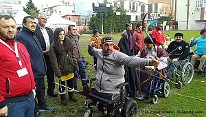 Engelli okçular hedefe değil kalplere nişan aldı