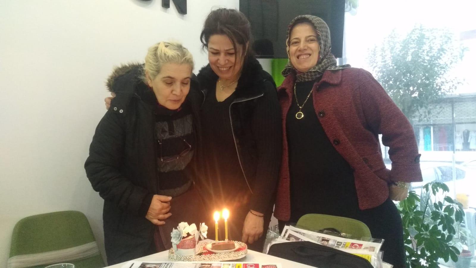 Herbalife Gülsüm Delibaş'ın doğum günü sevincine süpriz yaptı
