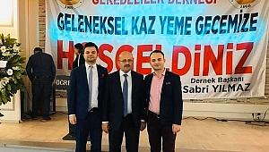 İstanbul Geredeliler Sılai Rahimde, kaz gecesinde buluşuyor