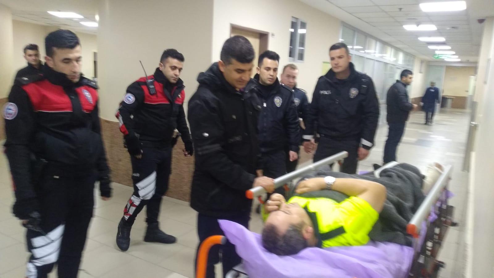 Zeyit Şener'den yaralı polisle ilgili açıklama
