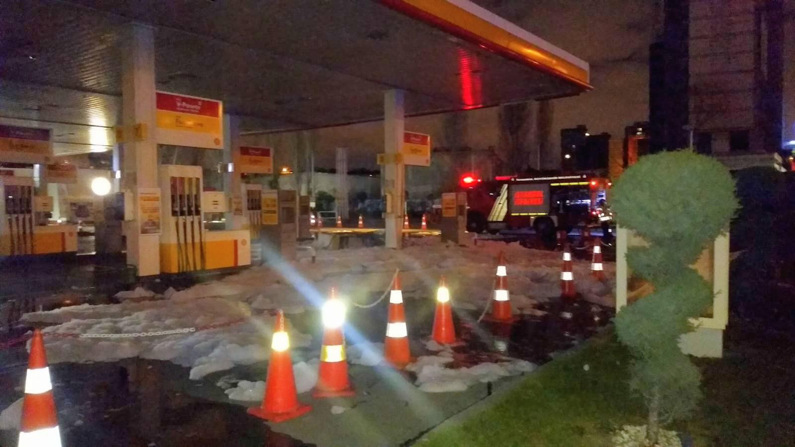 Merterde benzin istasyonunda facia kıl payı atlatıldı