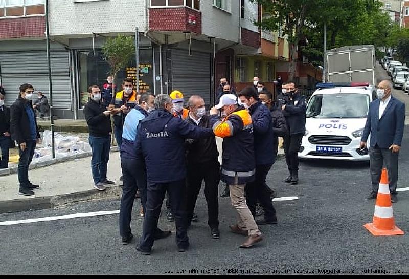 Bir Delik Güngören belediyesi ile büyükşehir belediyesi'ni birbirine düşürdü