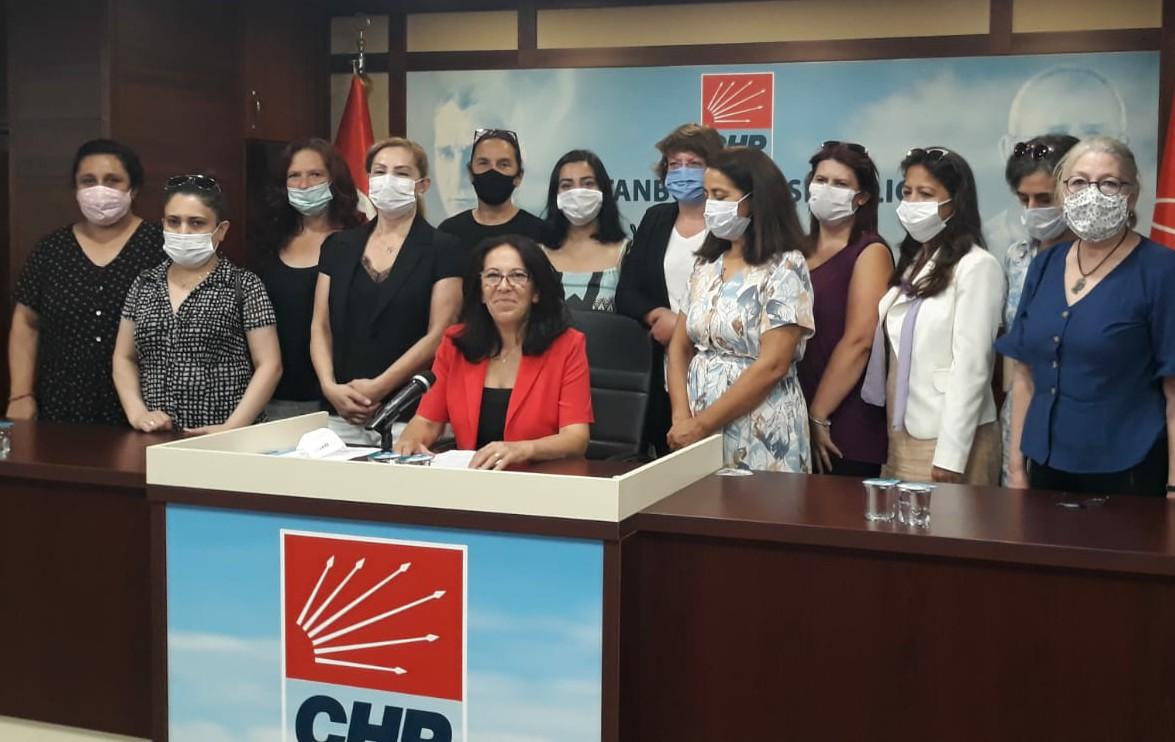 Chp'li Kadınlar İSTANBUL SÖZLEŞMESİ KIRMIZI ÇİZGİMİZDİR!