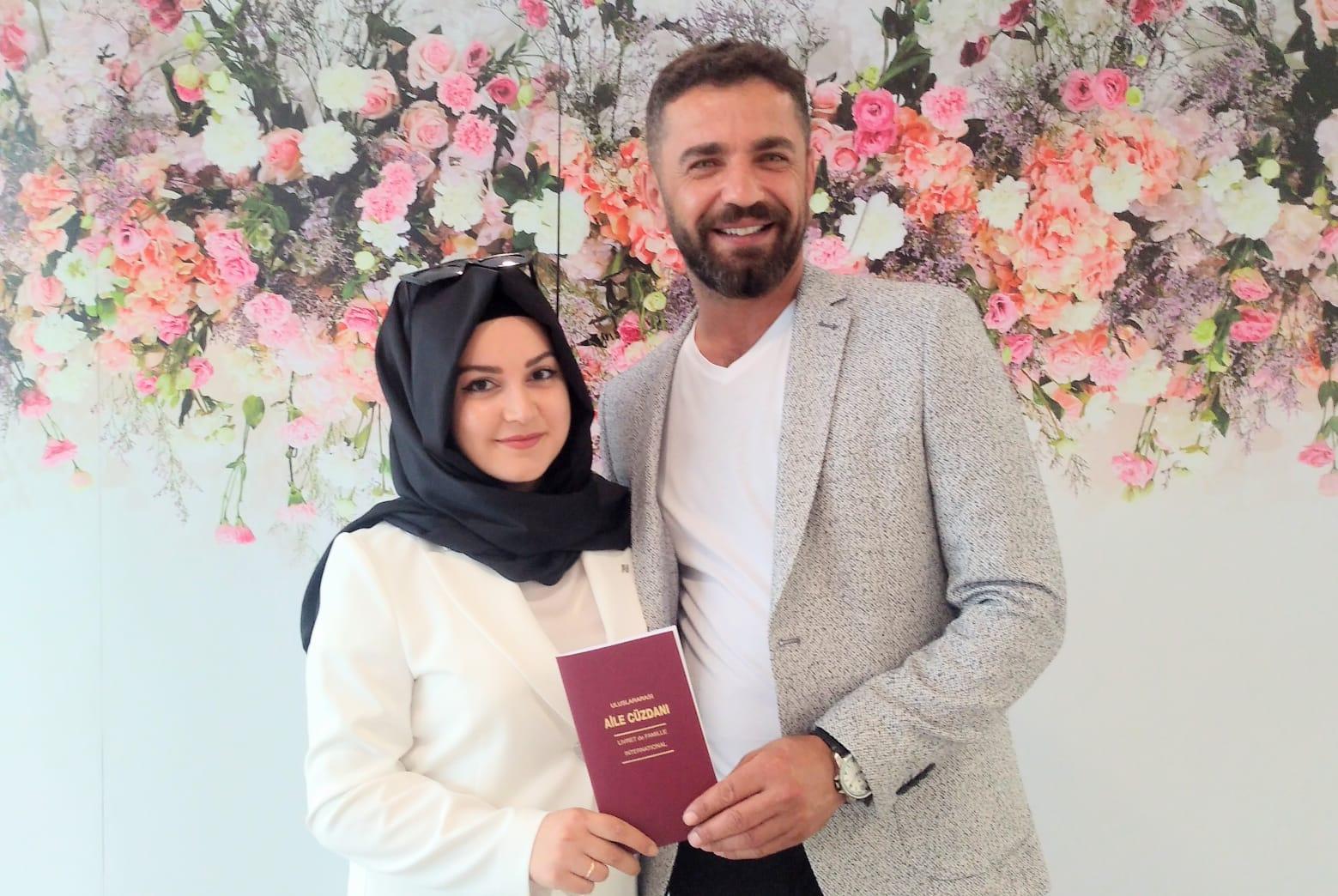 Esma Akarsu'yla Seyfullah Özmen mutluluğu nikah masasında buldular