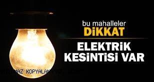 İstanbul'un 20 ilçesi elektrik kesintisi yaşıyacak