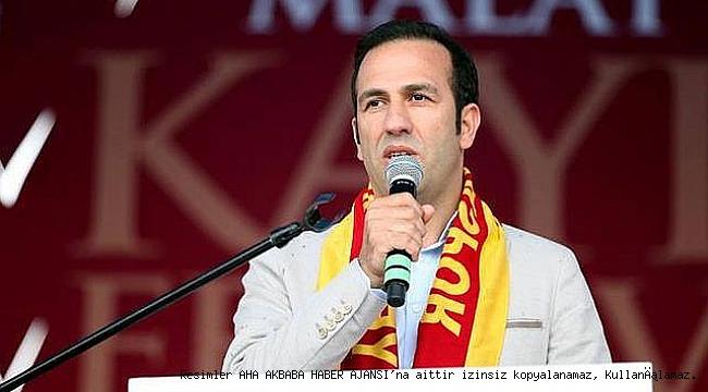 MAKON ve MASTÖB'den Yeni Malatyaspor başkanı Adil Gevrek'e açık çek geldi