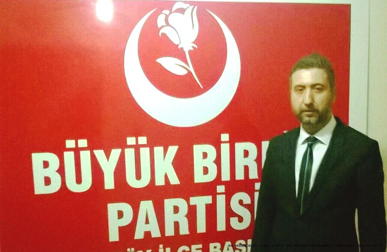 Serkan Karacaoğlu Bahçelievler BBP ilçe başkanı oldu