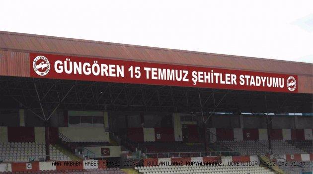 Stadın ismi Güngören 15 Temmuz Şehitler Stadyumu oldu