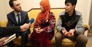 Suriyeli Annenin Sevinç Gözyaşları