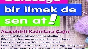 Ataşehir'li Kadınlar Geleceğe İlmek Atıyor