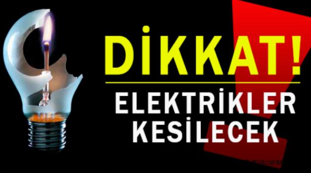 İstanbul'da elektriği kesilecek 4 ilçe