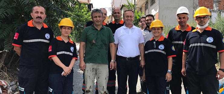 Gaziosmanpaşa Belediyesi Arama Kurtarma Ekibi Her An Göreve Hazır