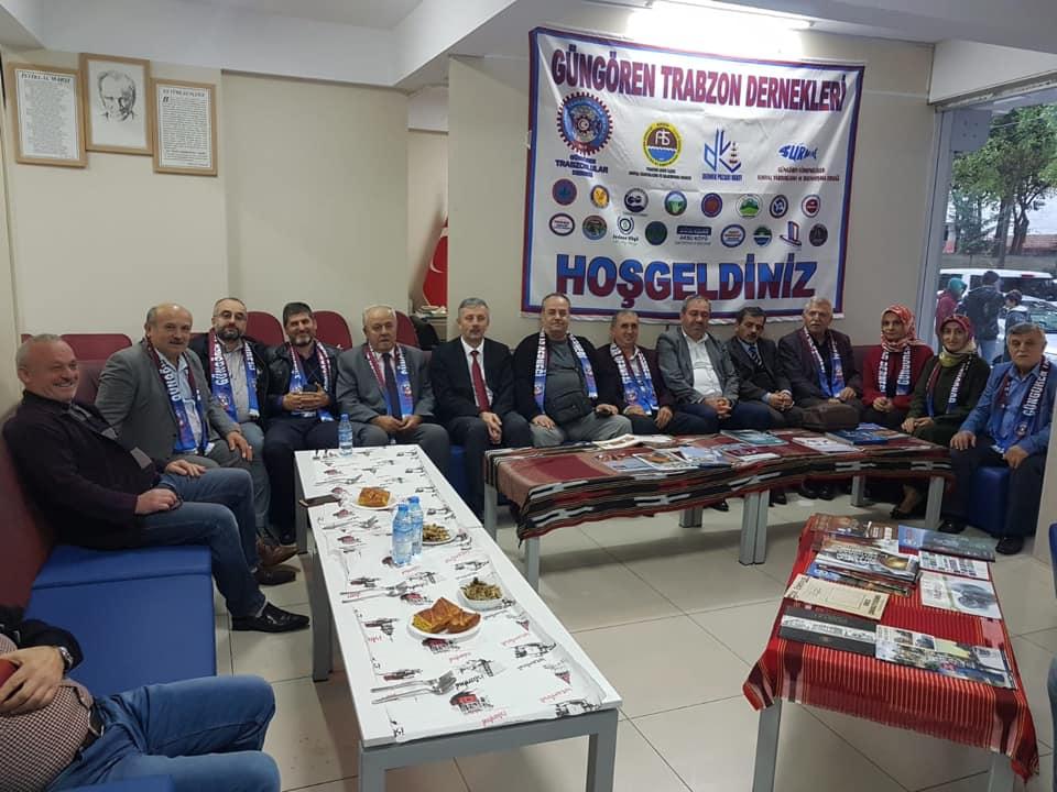 Güngören Trabzonlular demokrasi kahramanları muhtarları ağırladı